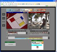 FORScene provides an excellent Java based tool for editing and publishing videos